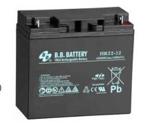 BB 12V 22AH high SLA battery UNIT for DMX SPS